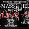 Acid Death zusammen mit Six Feed Under auf Tour Acid Death werden im Dezember zusammen mit Six Feed Under, Death Bed Confession, From The Shore und weiteren Bands die X-Mass […]