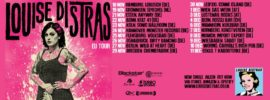 Louise Distras Tourposter