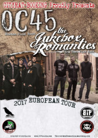 OC 45+The Jukebox Romantics Euro Tour 2017